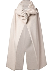 Sabine Luise Funnel Neck Waistcoat Nude And Neutrals