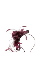Coast Silvie Floral Fascinator Purple