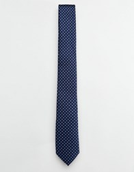 Selected Homme Spot Tie Blue