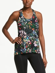 Bjorn Borg Dakota Floral Training Vest Mystic Flower