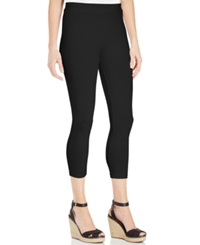 Style And Co. Cropped Leggings Deep Black