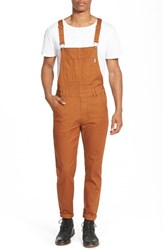 Men's Publish Brand 'Sawyer' Overall Pants Rust