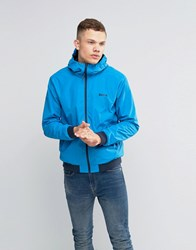 Bench Zip Through Lightweight Jacket In Blue Blue