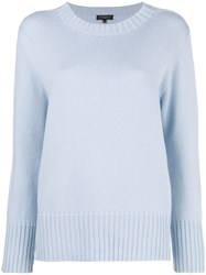 Antonelli Loose Fitted Sweater Blue
