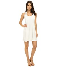 Michael Michael Kors Sporty Mesh Paneled Cover Up White Women's Swimwear