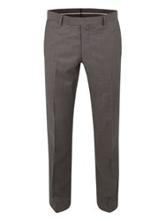 Racing Green Bentley Pindot Suit Trouser Charcoal
