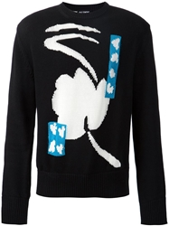 Raf Simons Flower Intarsia Sweater