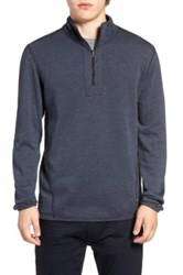 Howe Double Time Reversible Pullover Blue