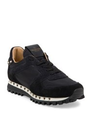 Valentino Studded Sneakers Black