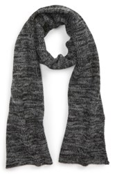 The Rail 'Zig Zag' Knit Scarf Black