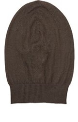 Rick Owens Men's Cashmere Slouchy Skull Cap Grey