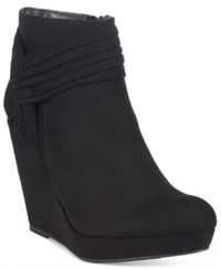 Thalia Sodi Chelaa Knot Booties Only At Macy's Women's Shoes Black