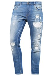 Scotch And Soda Skim Slim Fit Jeans Hook Jab Blue Denim