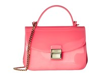 Furla Candy Sugar Mini Crossbody Rose Cross Body Handbags Pink
