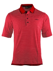 Chervo Apside Stripe Regular Fit Polo Shirt Red