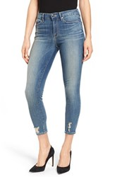 Good American Plus Size Women's Legs Crop Skinny Jeans Blue 010
