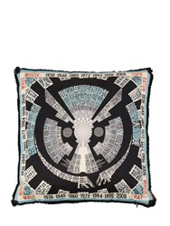 Missoni Mouse Horoscope Cotton Pillow Multicolor