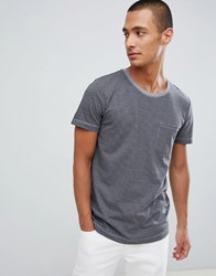 Tom Tailor T Shirt In Grey With Puppytooth