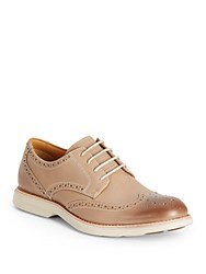 Sperry Bellingham Leather Wingtip Brogues Tan