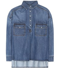 Each X Other Denim Shirt Blue