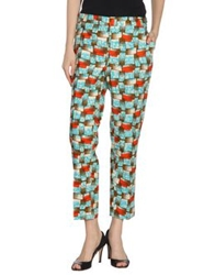 Stella Jean Casual Pants Turquoise