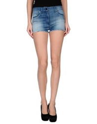 Elisabetta Franchi Jeans Denim Shorts Blue