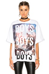 Fausto Puglisi Boys T Shirt In White