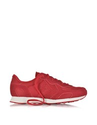 Converse Auckland Racer Ox Tango Red Mesh Suede Sneaker