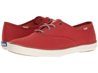 Keds Champion Seasonal Solid Ketchup Red Women's Lace Up Casual Shoes