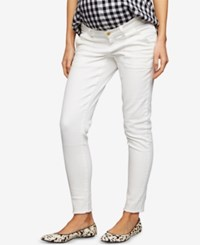 A Pea In The Pod Maternity Skinny Jeans White Pearl