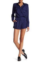 Finders Keepers Great Heights Romper Blue