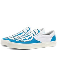Amiri Skeleton Toe Slip On Blue