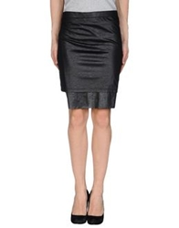 Cheap Monday Mini Skirts Black