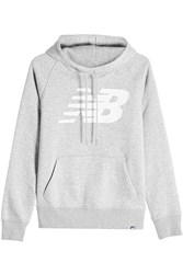New Balance Hoodie With Cotton Grey