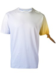 J.W.Anderson Contrast Sleeve T Shirt Yellow