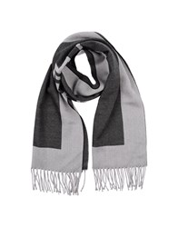 Karl Lagerfeld Lagerfeld Accessories Oblong Scarves Men Grey
