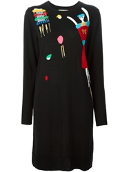 Tsumori Chisato Doll Intarsia Embellished Dress