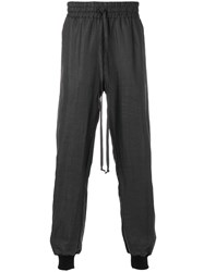 Lost And Found Ria Dunn Easy Pants Ramie Cotton Black