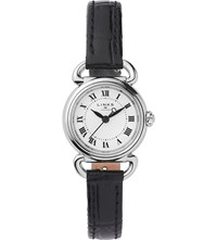 Links Of London 6010.2169 Driver Mini Stainless Steel And Leather Watch Black