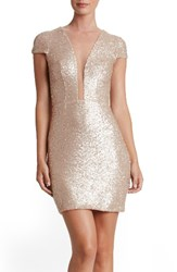 Dress The Population Women's Kylie Sequin Minidress