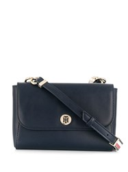 Tommy Hilfiger Colour Block Shoulder Bag Blue