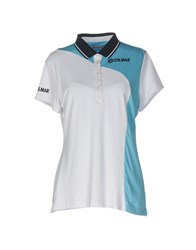 Colmar Polo Shirts Sky Blue