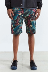 Shades Of Grey By Micah Cohen Flat Front Short Green Multi