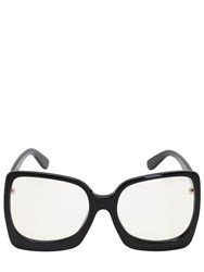 Tom Ford Rectangular Pantograph Sunglasses Black