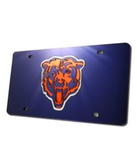 Rico Industries Chicago Bears License Plate Blue