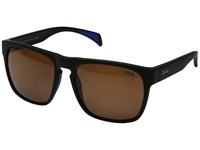 Zeal Optics Capitol Matte Black W Copper Lens Sport Sunglasses Brown