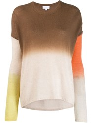 Lala Berlin Gradient Effect Jumper Neutrals