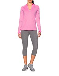 Under Armour Ua Tech Hooded Henley Light Pink