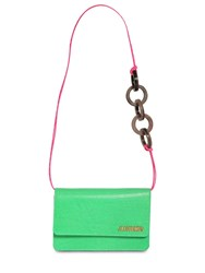 Jacquemus Le Sac Riviera Embossed Leather Bag Green