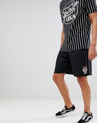 Element Retro Football Shorts In Black